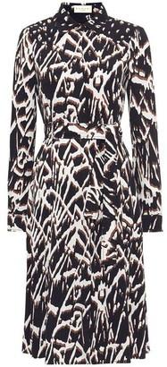 Damsel in a Dress Theodora Animal Print Shirt Dress