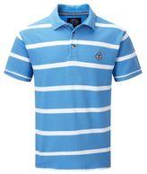 Tog 24 Blue Haze Wilson Stripe Polo Shirt