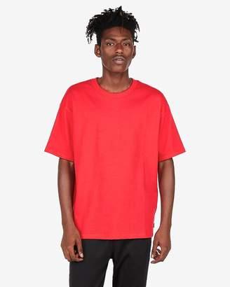 Express Oversized Drop Shoulder Crew Neck T-Shirt