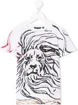 Antony Morato lion print T-shirt