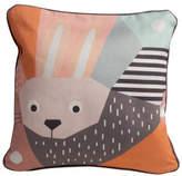 Nurseryworks Nursery Works Menagerie Cubist Print Toddler Pillow Case