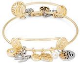 RJ Graziano R Initial Charm Bracelet