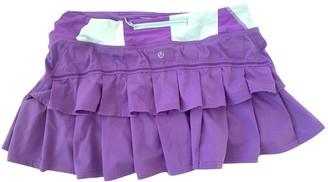 Lululemon Multicolour Polyester Skirts