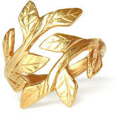Laurèl Chupi Wrap Your Laurels Around Me Ring In Gold