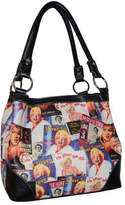Monroe Women's Marilyn Forever Beautiful Collage Medium Tote MM613