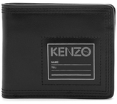 Kenzo Leather Card Wallet Black