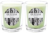 Qualitas Candles Freesia Beeswax Candles (Set of 2) (6.5 OZ)