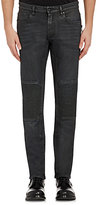 Belstaff Men's Coated Blackrod Moto Jeans-BLACK