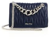 Miu Miu Club Matelasse Leather Chain Shoulder Bag