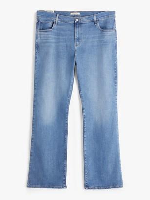 Levi's Plus 725 High Rise Bootcut Jeans, Rio Rave