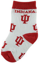 For Bare Feet Babies' Indiana Hoosiers Socks