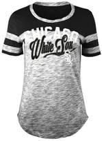 5th & Ocean Women's Chicago White Sox Space Dye CB Yoke T-Shirt
