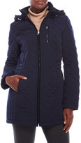 Laundry by Design Hooded Smock Waist Jacket