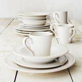 Sur La Table Pearl Stoneware 16-Piece Dinnerware Set