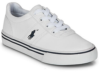 Polo Ralph Lauren HANFORD III girls's Shoes (Trainers) in White