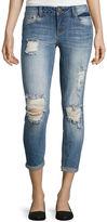 Z2 Soundgirl Destructed Cropped Pants - Juniors