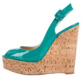 Christian Louboutin Une Plume Sling 140 Wedges