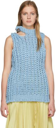 Calvin Klein Blue Lightweight Knit Vest