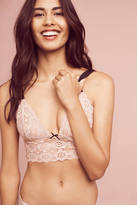 Anthropologie Fleur du Mal Crocheted Lace Bra