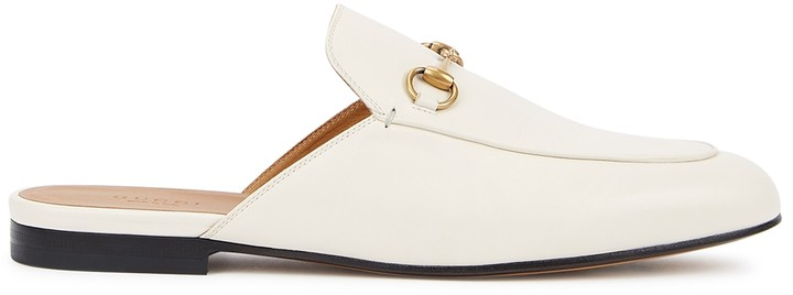 White Backless Loafers | Shop the world