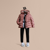 Burberry Bow Detail Down-filled Puffer Jacket