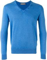 Cruciani V-neck jumper - men - Cotton - 46