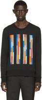 Christopher Kane Black Embroidered Bolster Pullover