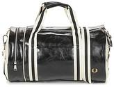 Fred Perry CLASSIC BARREL BAG men's Sports bag in Black