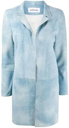 Sylvie Schimmel Sireneante notched-lapel coat