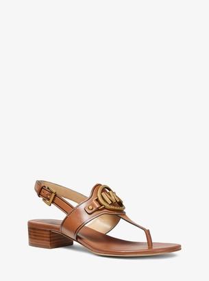 MICHAEL Michael Kors Ashland Leather Sandal