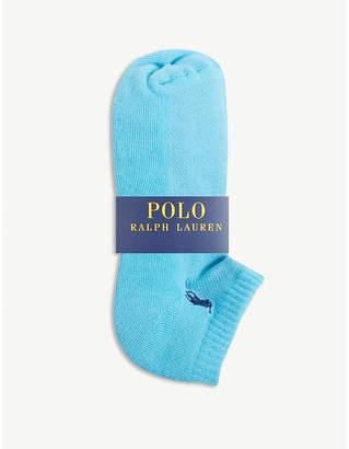 Polo Ralph Lauren Logo cushioned sole socks set of six
