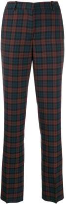 Mulberry straight tartan trousers