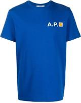 A.P.C. X Carhartt logo T-shirt