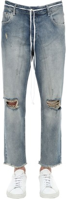 Other 18cm Distressed Cotton Blend Denim Jeans