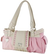 Butterflies 21 Butterflies Designer Ladies Handbag Faux Leather Shoulder Bag Purse Tote