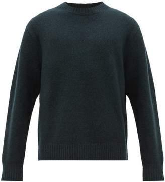 Acne Studios Kael Crew Neck Wool Blend Sweater - Mens - Green
