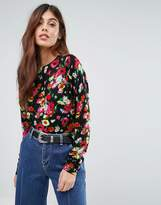 Warehouse Floral Sweater