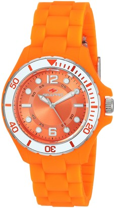 Seapro Women's Spring Stainless Steel Quartz Watch with Silicone Strap