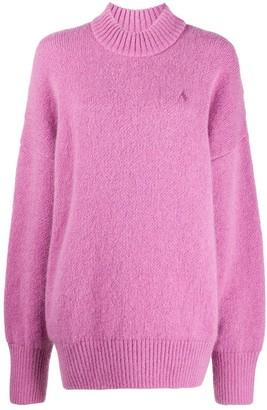 ATTICO Oversized Roll-Neck Sweater