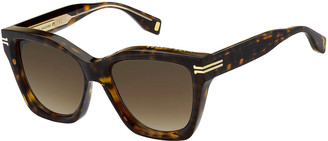 Marc Jacobs Oversized Square Acetate Sunglasses