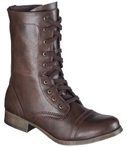 Mossimo Women's Khalea Combat Boots - Multiple Colors