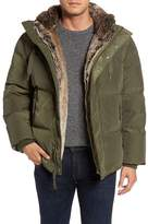 Andrew Marc Athlone Faux Fur Down Jacket