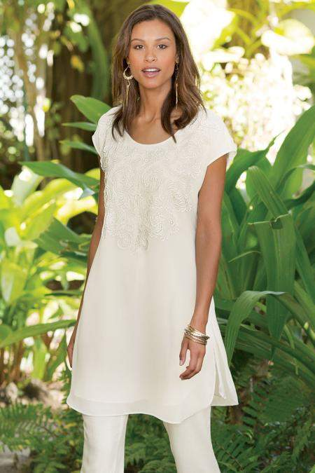 Soft Surroundings Taj Tunic