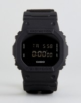 G-Shock G Shock Dw-5600bbn-1er Digital Canvas Watch In Black