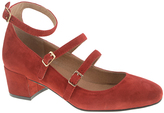 Chinese Laundry Red Moto Suede Pump