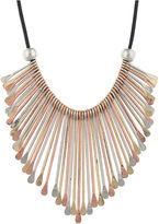 JCPenney Decree Tri-Tone Spoon Necklace