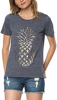 O'Neill Gilded Foil Pineapple Graphic Short-Sleeve Knit Tee