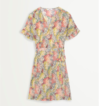 Suncoo Candy Floral Print Short Dress - 12