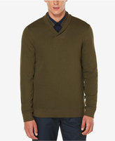 Perry Ellis Men's Lightweight Shawl-Collar Sweater