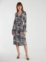 Diane von Furstenberg T/72 Midi Wrap Dress